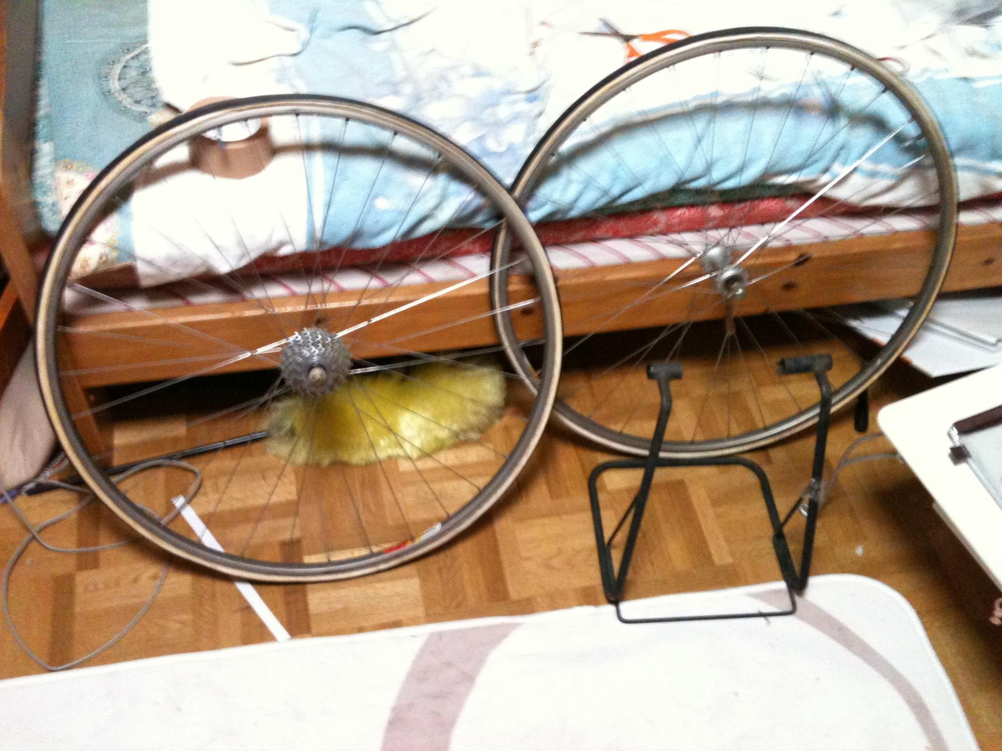 自転車の 自転車 チェーン サビ 油 : クロモリロードレーサー分解 ...